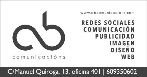 Logo ab comunicacións